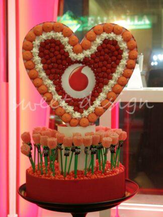 Logo de chuches de Vodafone