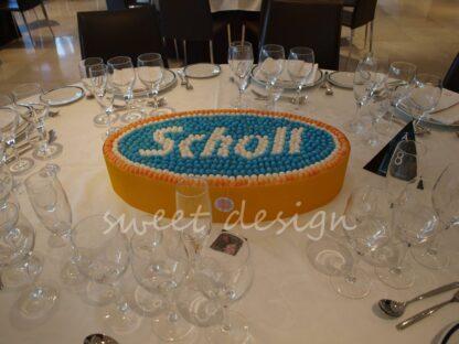 Logotipo Scholl para incentivos a farmacias