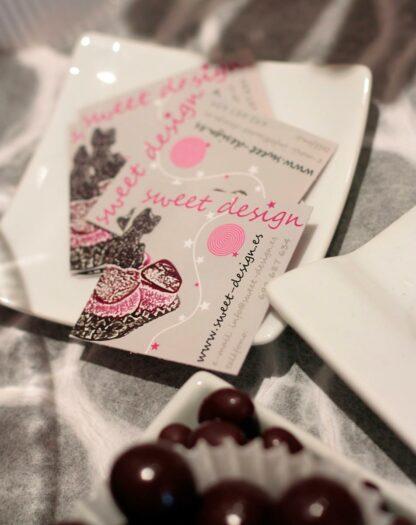 Tarjeta de visita Sweet Design