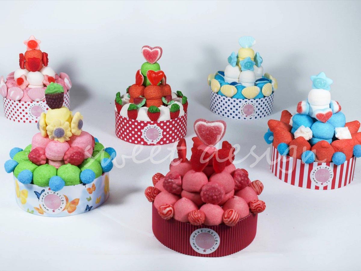 Tartita Roja de Chuches | Sweet Design