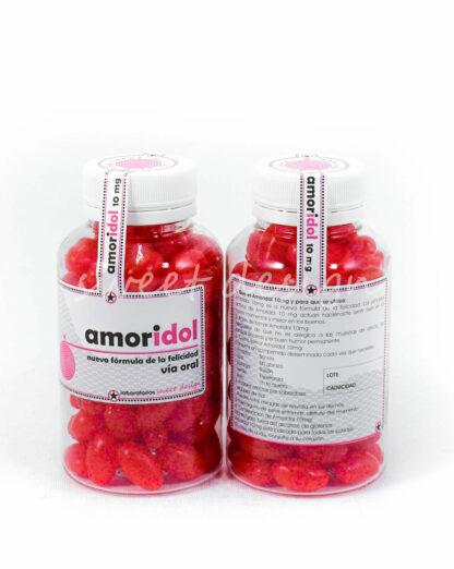 Medicamentos dulces con pills de cereza