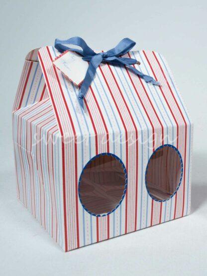 Caja de pasteles