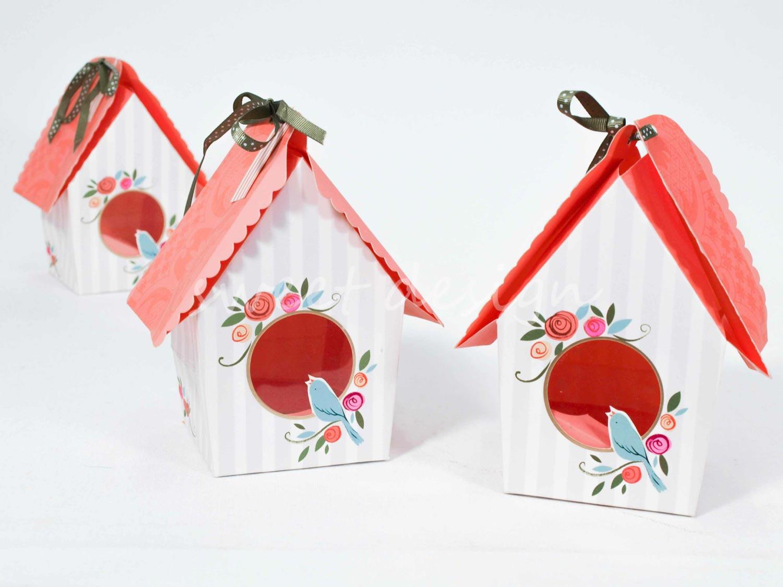 Casita para cup cakes casita de p jaros sweet design - Casita para pajaros ...