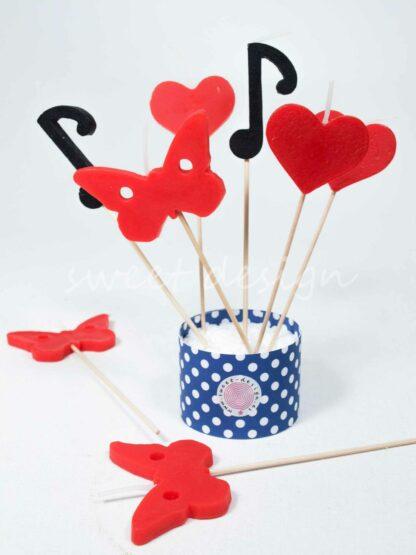 Velas amor música mariposas enamorados