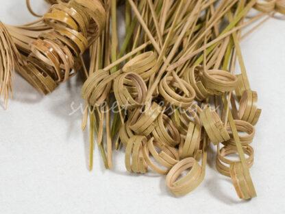 Pinchos para hacer brochetas de chuches con asa trenzada