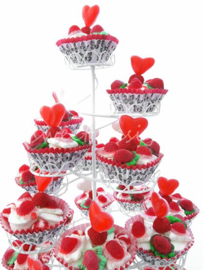 Cup Cakes de gominolas para mesa dulce en eventos