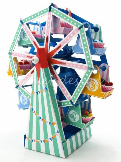 Expositor de cup cakes para fiestas infantiles