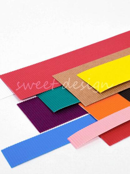 Cartulina para hacer tartas de chuches de todos los colores