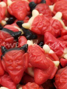 Diablitos picantes de Golosina para Halloween