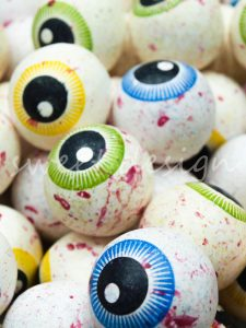 Ojos de chicle para halloween online