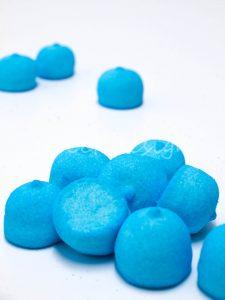 Chuches azules de nube esponjitas