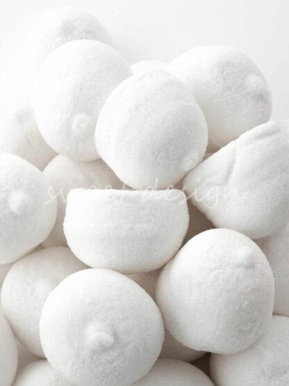 Bolas Blancas de Chuche para tartas
