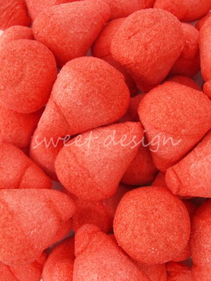 Chuches por Colores Rojas para Hacer Tartas de Golosinas
