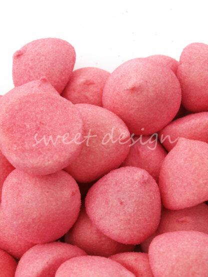 Marshmallow Rosa para Bufet de Gominolas
