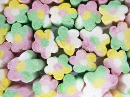 Marshmallow flor verde rosa verde blanco amarillo