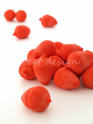 Frambuesas mini de espuma dulce