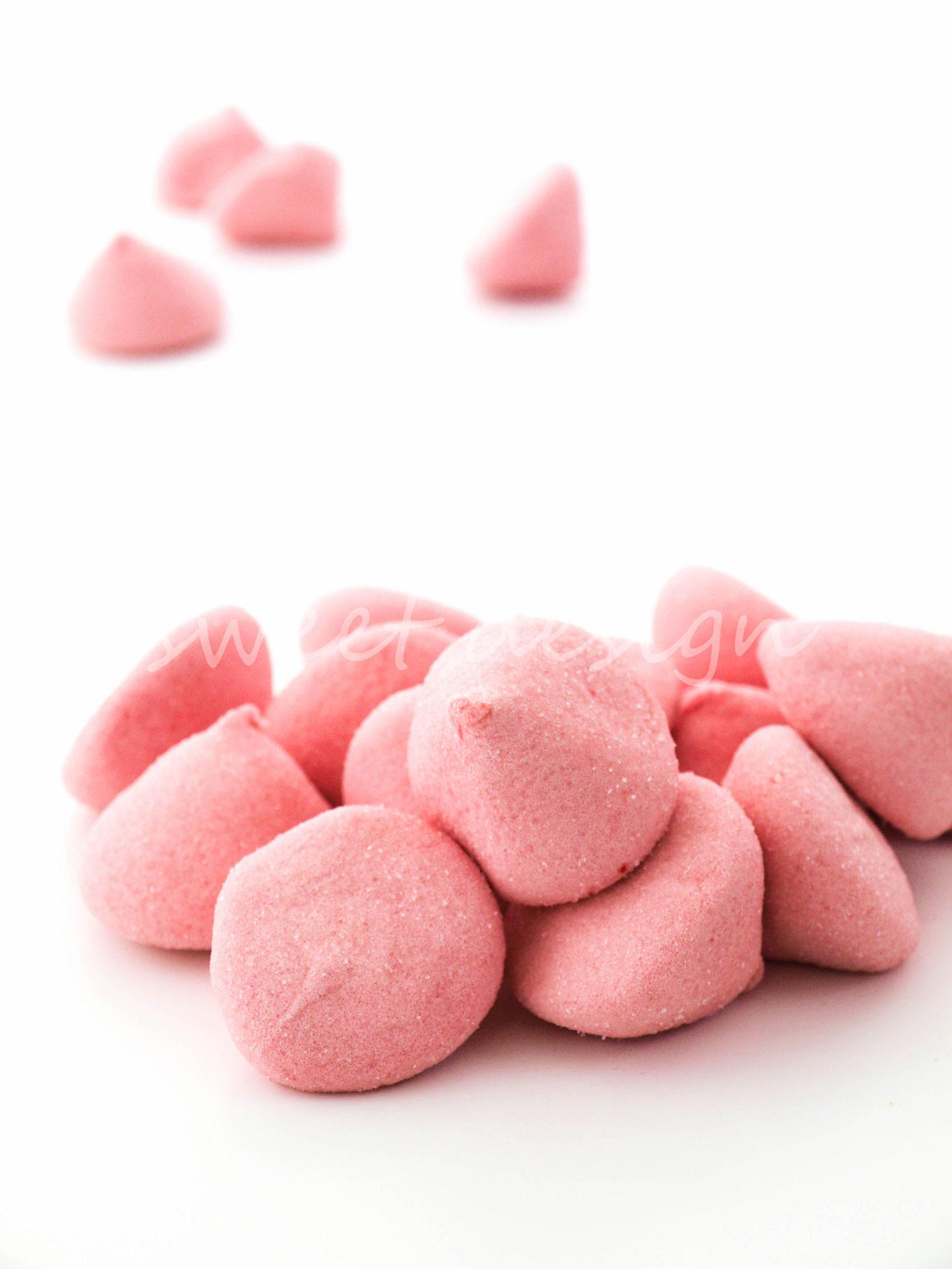 Nube rosa rellena de zumo de fresa sweet design - Como hacer zumo de fresa ...