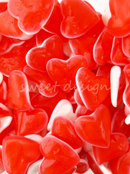 Corazón de Gominola para tartas de chuches
