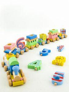 Tren de Juguete para Cumpleaños