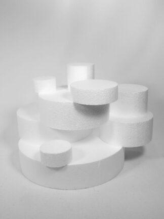 Base porex para tartas de golosinas circulares