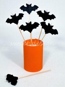 Vela de Murcialago de Halloween