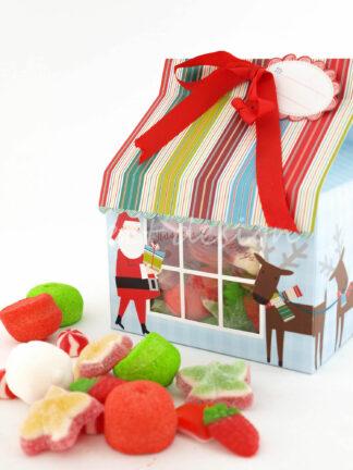 Casitas de Chuches navideñas