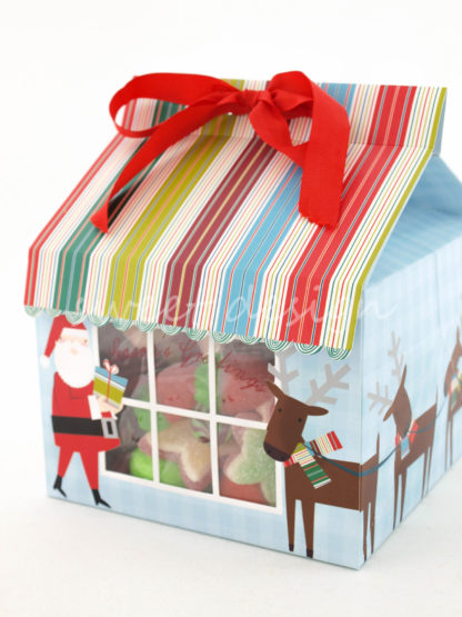 Decoración de navidad con chuches