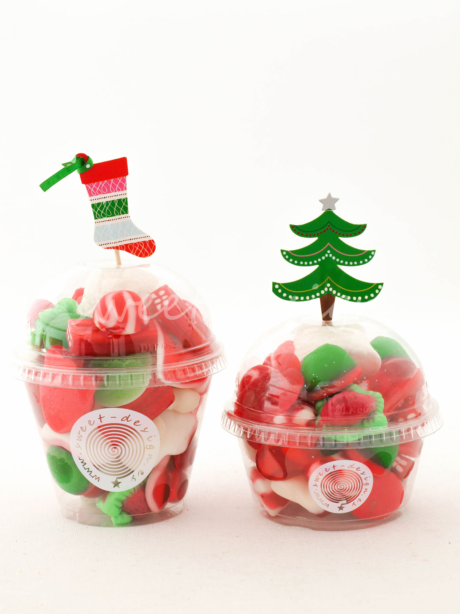 Pin decoracion y etiqueta on pinterest - Adornos con chuches ...