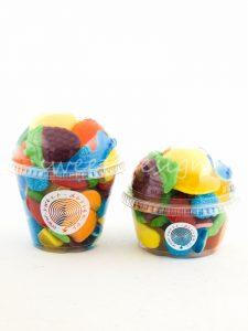 Cup Cake de Chucherías de frutas