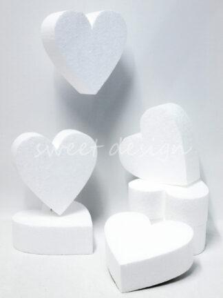 Base de Porex con Forma de Corazón para tartas