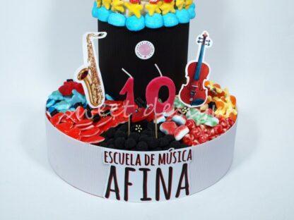 Tarta de gominolas de Dos Pisos Gigante para fiestas personalizadas