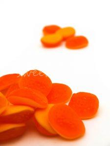 Chuches por colores para buffet de golosinas para boda