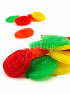 Espirales de Colores para Buffet de Golosinas