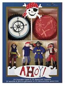 Adornos para Cupcake de Pirata