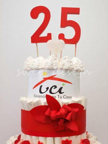 tarta de chuches personalizada