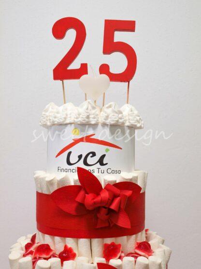 tarta de aniversario empresas