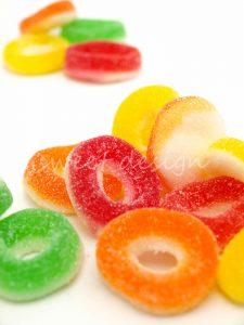 Chuches por colores al peso