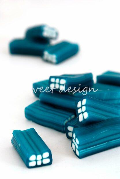 Ladrillos azules de regaliz