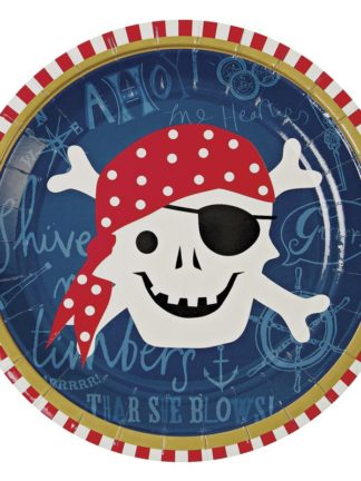 Decoración fiesta pirata