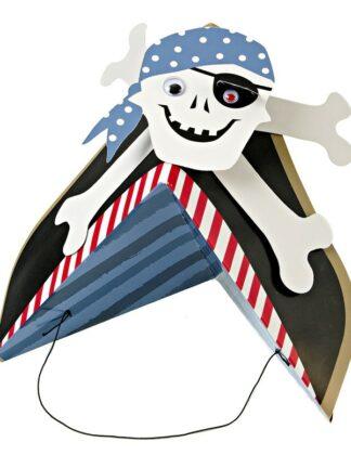 Gorros de pirata para fiestas infantiles