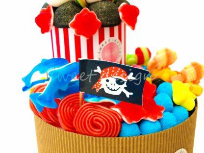 Decoración para fiesta infantil pirata