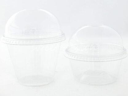 Vasos Cupula de plastico