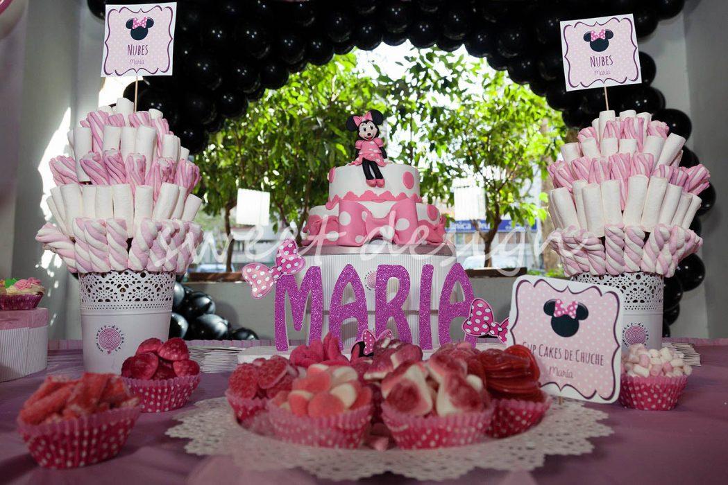 Candy Bar cumpleaños Minnie