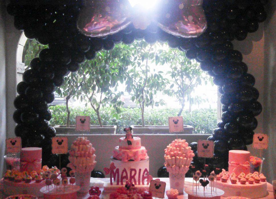 Candy Bar rosa para niña