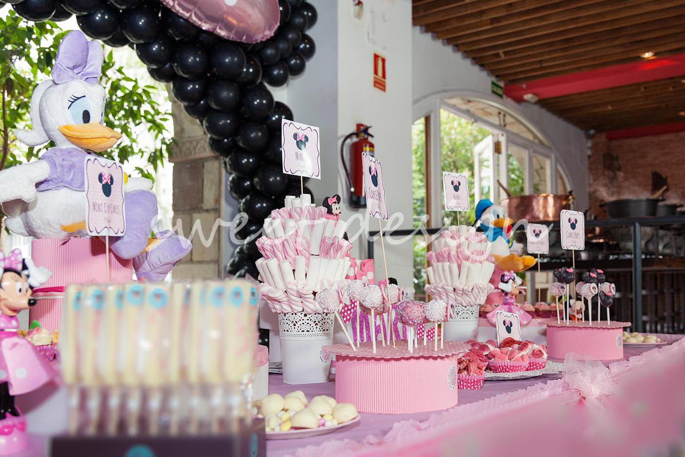 Bar para fiestas infantiles barras de dulces para - Decoracion de cumpleanos infantiles ...