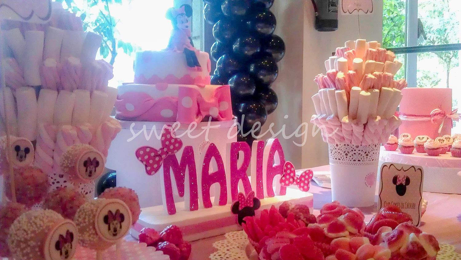 Pin fiesta de minnie mouse on pinterest for Decoracion minnie mouse