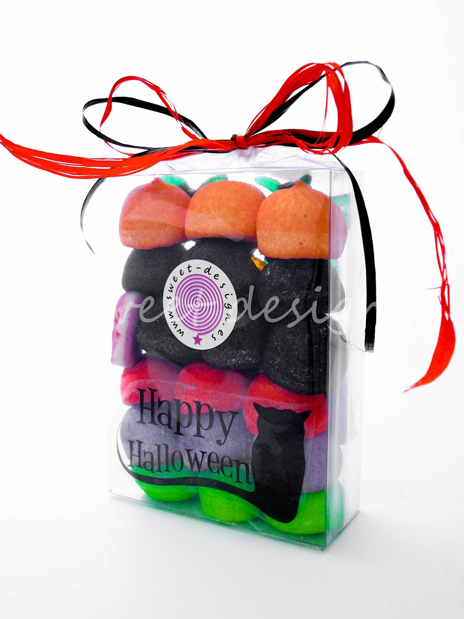 Cajita chuches halloween grande sweet design for Envolver brochetas de chuches