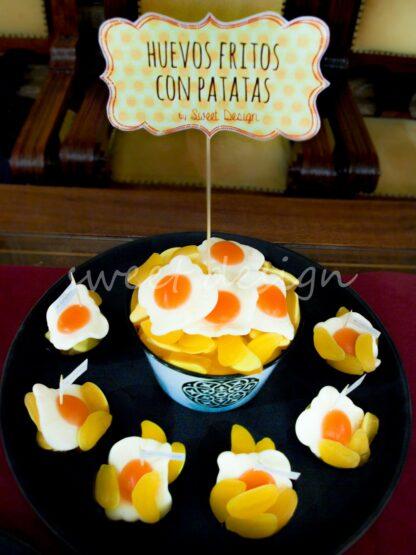 Huevos Fritos con Patatas Dulces