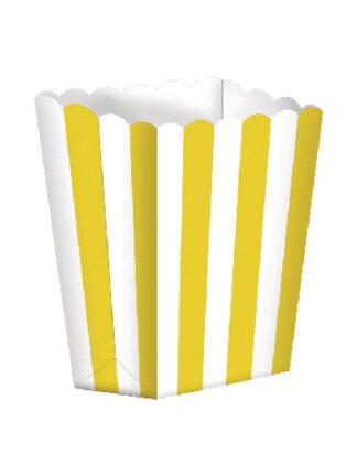 Decoración amarilla para fiestas