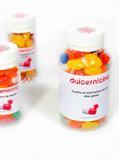 Pildoras dulces pastillas felicidad